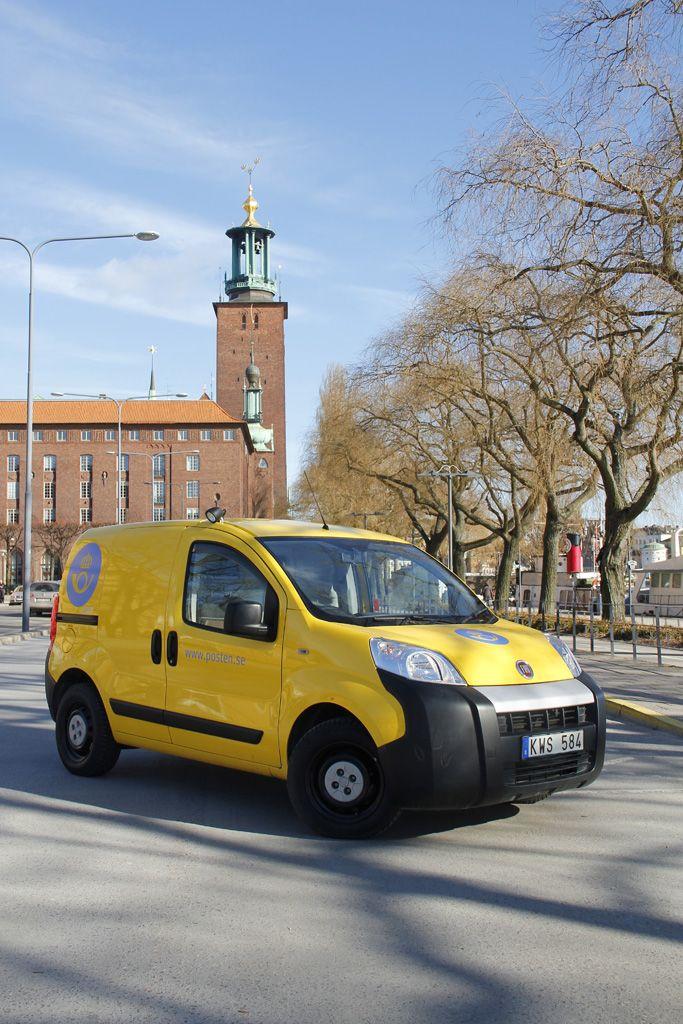 Poštni uslužbenci na Švedskem se bodo tudi v bodoče vozili s Fiati Fiorino