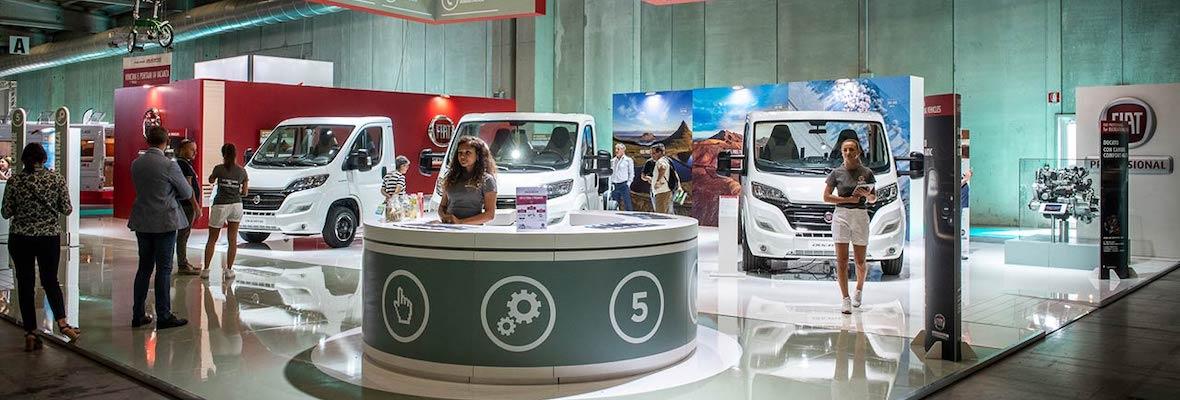 Fiat Professional na sejmu Salone del Camper 2018 v Parmi